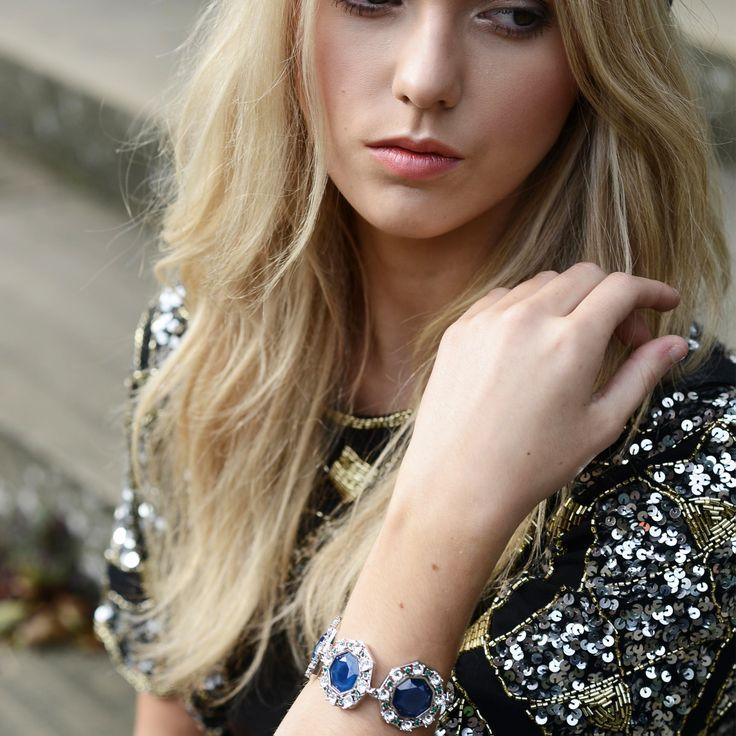 Lolu Rhoda Sapphire Bracelet