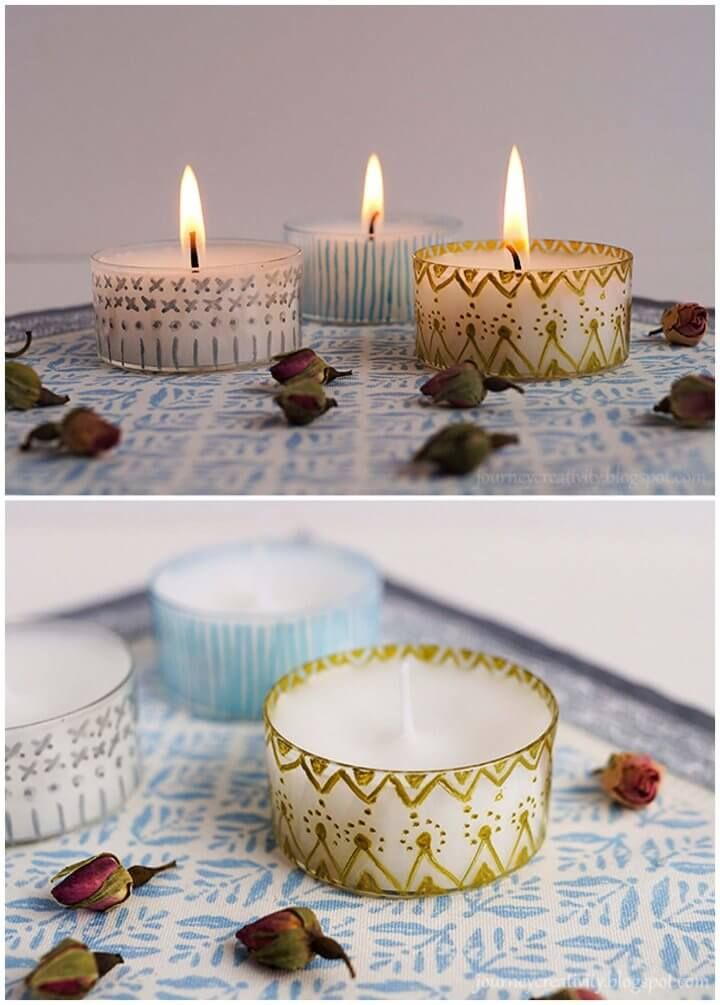 50 Diy Candle Holder Ideas How To Make Candle Holders Creative Diys Diy Candle Holders Diy Candles Concrete Candle Holders Diy