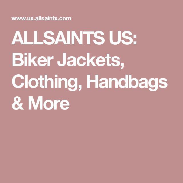 ALLSAINTS US: Biker Jackets, Clothing, Handbags & More