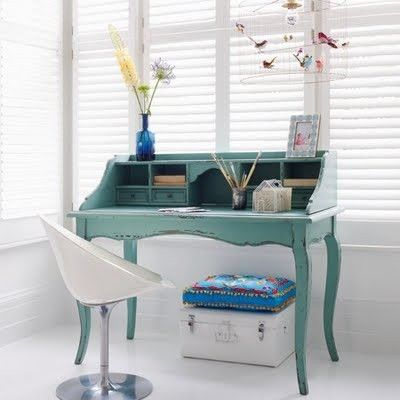 A writing desk will often select its own writer. ~ Patricia Hickman