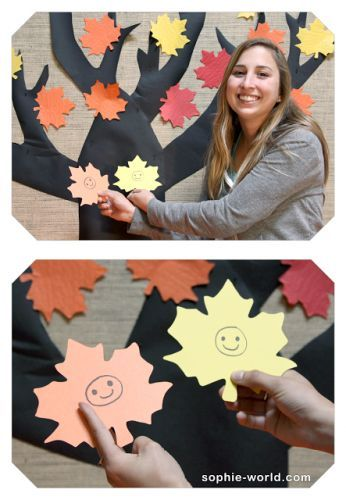 Picking Leaves is a very simple game for Fall|sophie-world.com