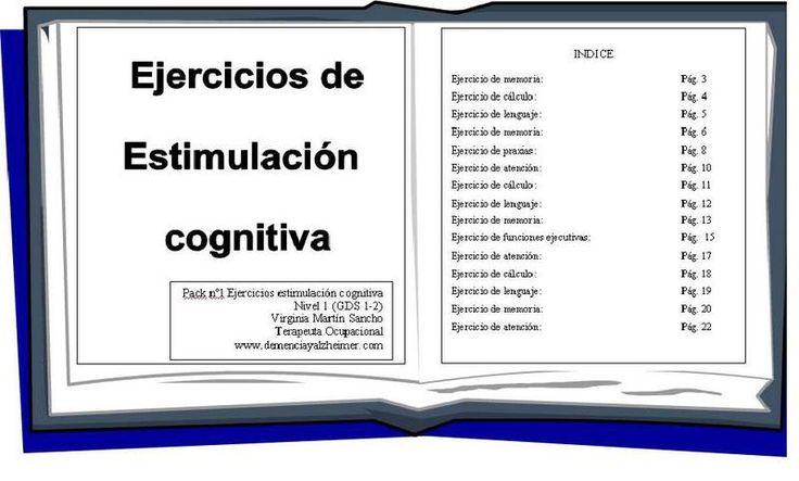 Juegos y Ejercicios para Personas con Alzheimer, Demencia Vascular, Lewy, Mixta, etc. Descarga juegos y ejercicios de estimulación cognitiva para adultos…