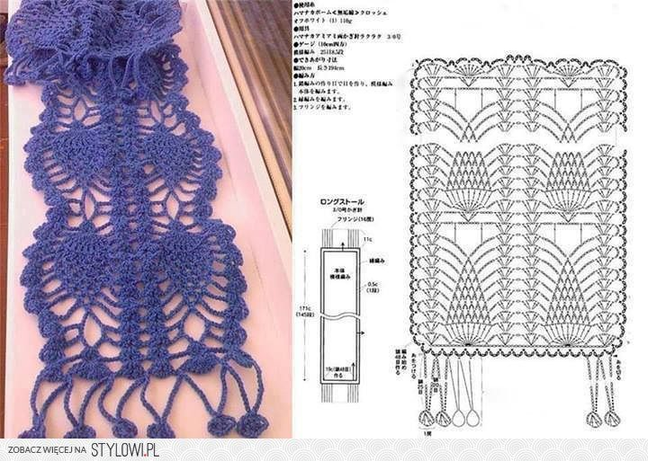 Patterns and motifs: Crocheted motif no. 685