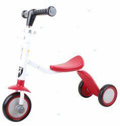 Rowerek trójkołowy Hulajnoga Red