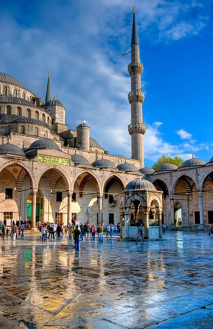Blue Mosque - Sultan Ahmed Mosque, Istanbul