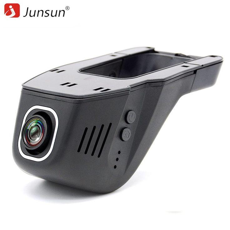 Junsun WiFi Car DVR Camera Novatek 96655 IMX 322 Full HD 1080p Universal Dashcam Video Registrator Recorder APP Manipulation //Price: $57.58 & FREE Shipping //     #gps