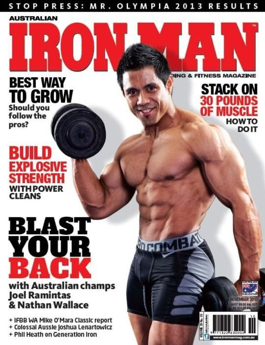 Then a month later, it was Joel's turn! Filming the behind the scenes of an #IronMan Magazine Australia cover shoot, with world-class #bodybuilders thanks to Gen-Tec #nutrition, in #Melbourne.