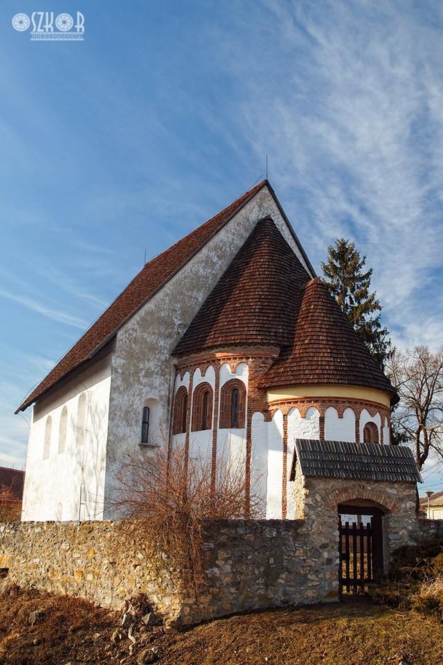 Szalonnai református templom. Hungary