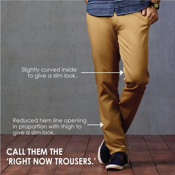 Presenting the Contemporary Fit trousers. Grab these smart trousers that immaculately weave in style and comfort. #ColorPlus #ForumCourtyard