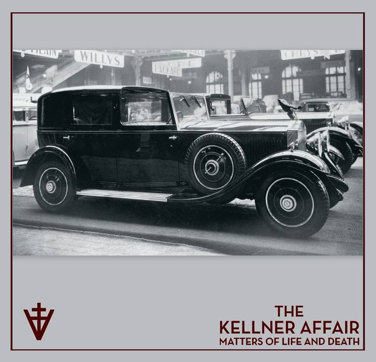 Rolls-Royce 20/25 coupé chauffeur chassis GFT1 at the 1931 Paris Salon. Practical perhaps, but no beauty queen. The car behind is 3JS shown elsewhere in this book. (Peter Larsen) The Kellner Affair #KellnerKickoff