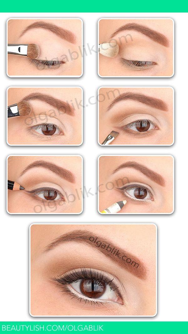 How to: Nude Make-up | Olga B.'s (olgablik) Photo | Beautylish. Super gorgeous natural eye make-up look