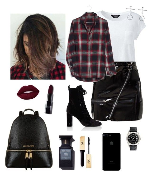 """""""Love this!"""" by matinapapadopoulou on Polyvore featuring Lands' End, Madewell, Yves Saint Laurent, Michael Kors, Rolex and plus size clothing"""