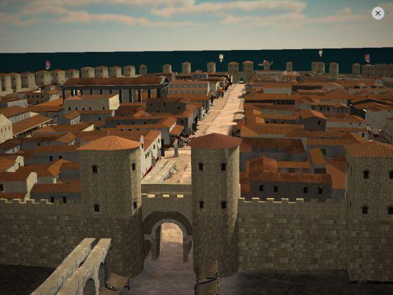 Paseando por Barcino entre romanos.
