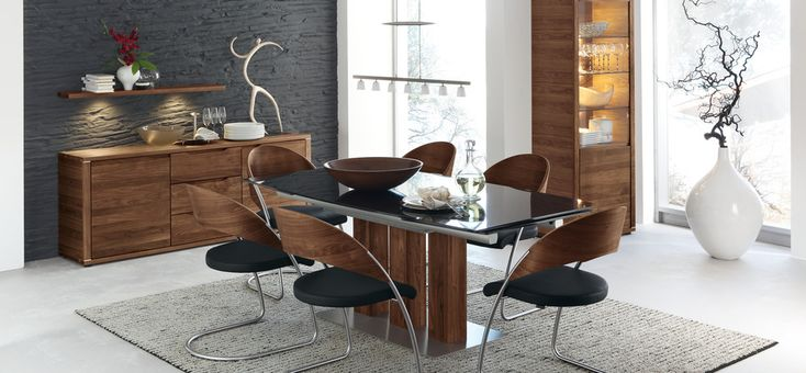 Dining Room Ideas:Modern Dining Room Theme Design Combine Wood 30 Contemporary Dining Rooms