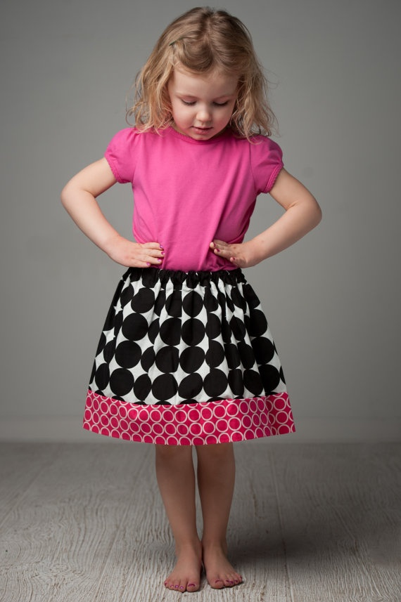 Toddler skirt size 3T ready to ship designer by RugratDesign, $18.00