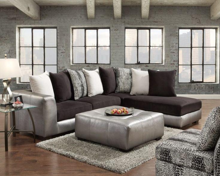 Die besten 25+ Sofa discount Ideen auf Pinterest Bestes - designer mobel aus metall bequeme sitzgruppe mit lederspolsterung