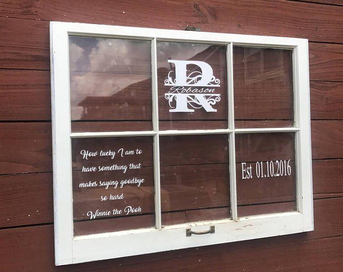 On Sale Wood Window Flower Box Window Frames Antique Wood Etsy Wood Windows Rustic Window Frame How To Antique Wood