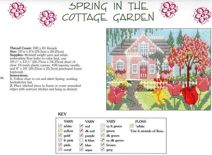 Spring in the Cottage Garden 1