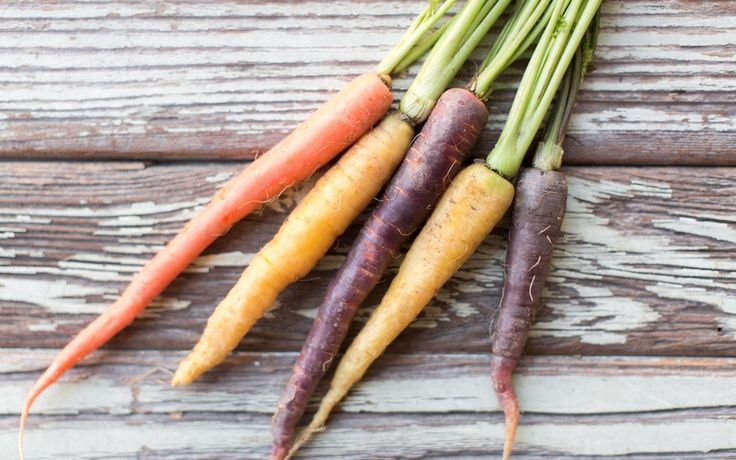 Organic Rainbow Carrots 3kg