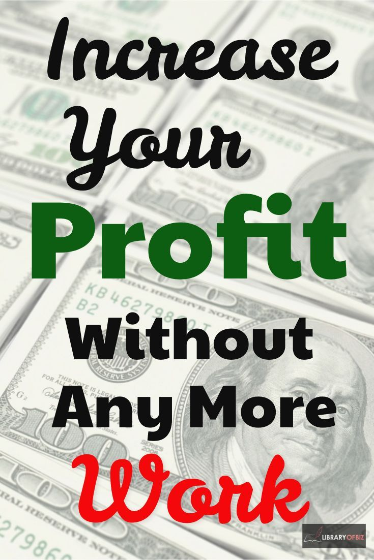 how to work out profit