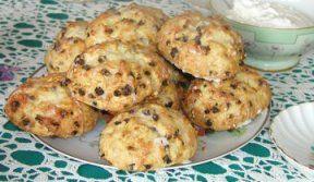 Wonderful Raisin Scones, How To Make Raisin Scones, Scone Recipes, Quick Bread Recipes, Tea Party Recipes