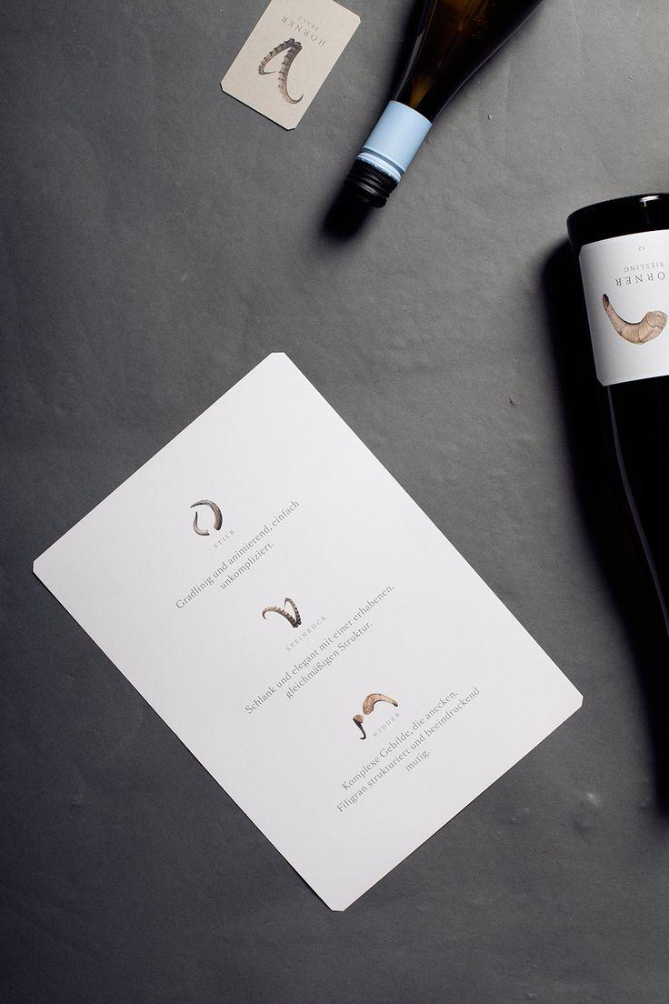 Thomas Hörner Winzer in der Pfalz   #CorporateDesign #Branding #Wein #Typografie #BueroMedienagenten