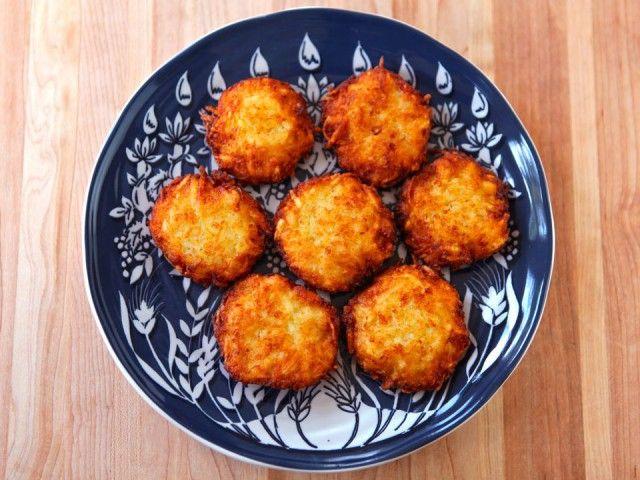 Crispy Panko Potato Latkes