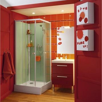Leroy merlin meuble de salle de bains dado rouge - Catalogue salle de bain leroy merlin ...