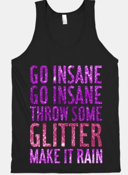 Love this Glitter tank top!!