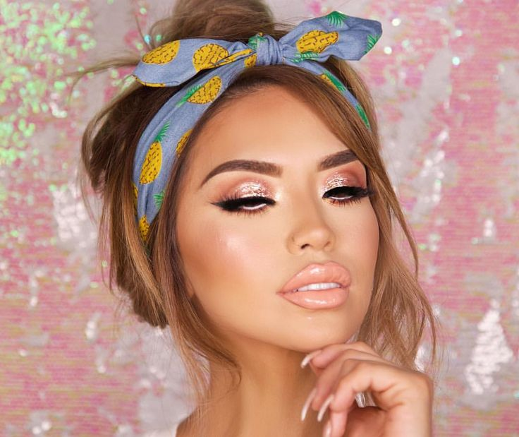 Rose Gold & Bronze Summer Look by @iluvsarahii