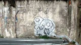 MUTO a wall-painted animation by BLU, via YouTube.