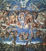 Last Judgment  by Michelangelo Buonarroti