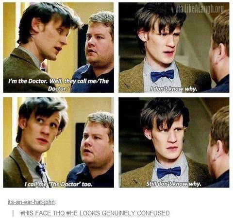 I'm the Doctor - I loved this episode where Matt Smith's doctor help this poor guy with his love life. Talk about the blind leading the blind. Pretty darn cute.