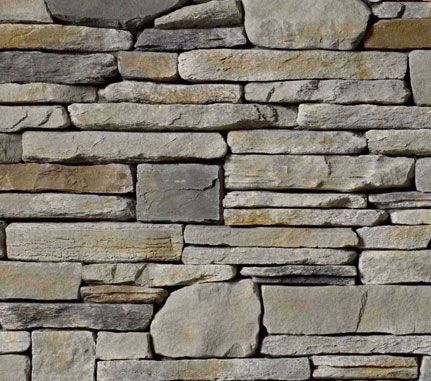 Cultured stone echo ridge southern ledgestone swatch for Exterior ledgestone