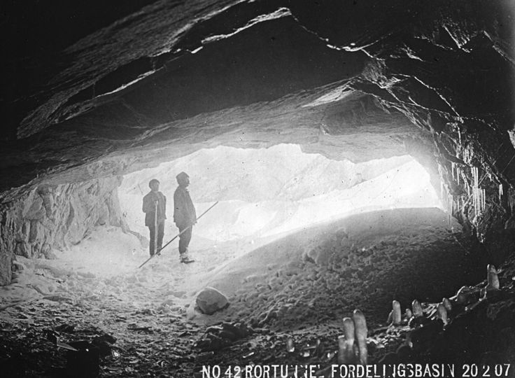 Over 100 years ago caves were made with bare hands