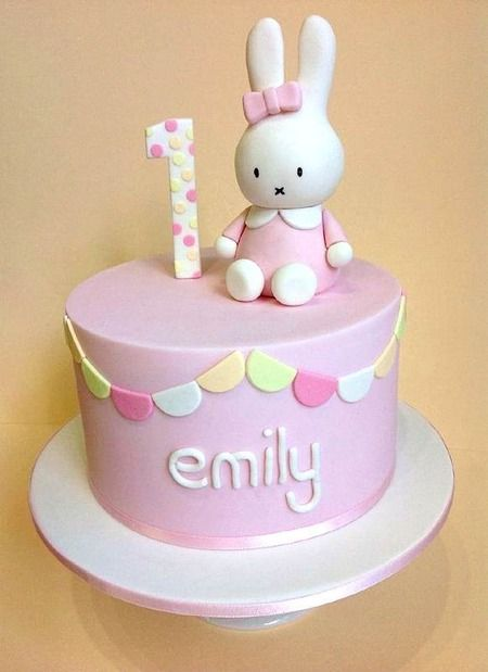 848 best images about cake decorating 1s and 2s girls for Decorating 1st birthday cake