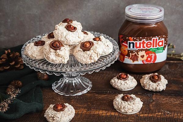 Haselnussmakronen mit nutella® von nutella | Chefkoch