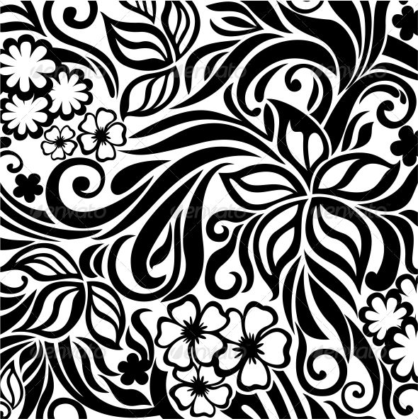 Floral Pattern Repetition Ecosia