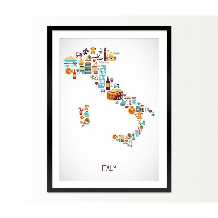 Cuadro Italy - Reallynicethings