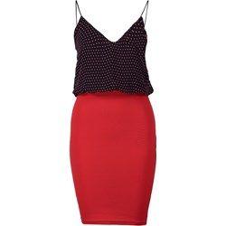 TFNC ANNIE Sukienka letnia blue/red