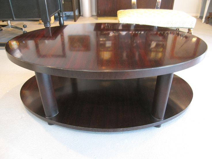 Baker Barbara Barry Oval Coffee Table