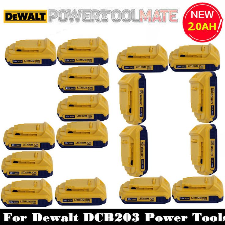 DIY  Tools 20 V Dewalt Battery