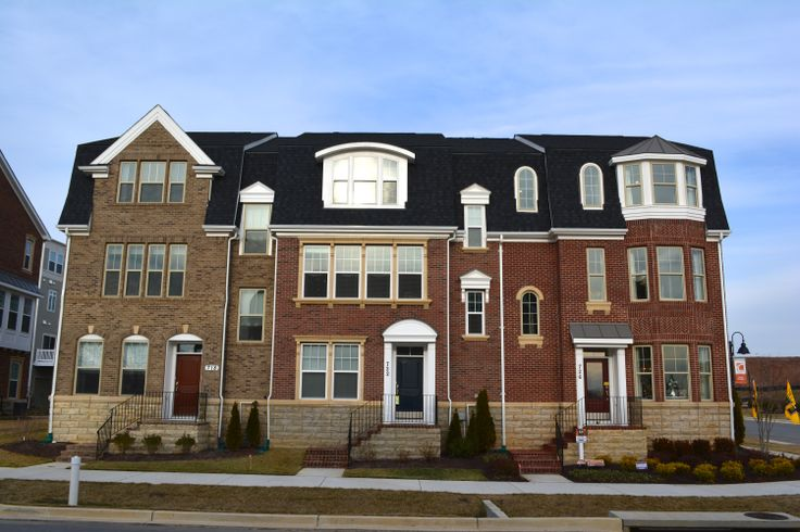The KB Home Townhomes At Crown Have Over 2300 SF Of Living Space Plus Two