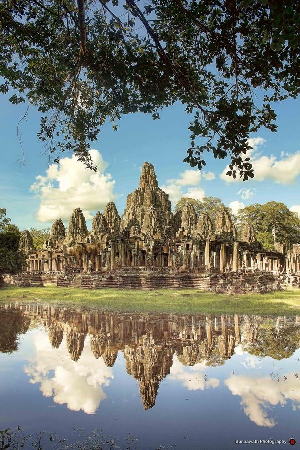 Bayon, Angkor Thom, Siem Reap, Kingdom of Cambodia