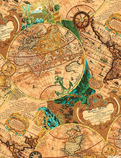 Fond, background, papiers, paper, scrap, printable : http://www.equilter.com/product/191182/renaissance-man-mapping-skills-warm-tan