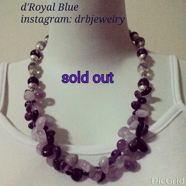 #soldout #stonejewelry #semiprecious #necklace #kalung