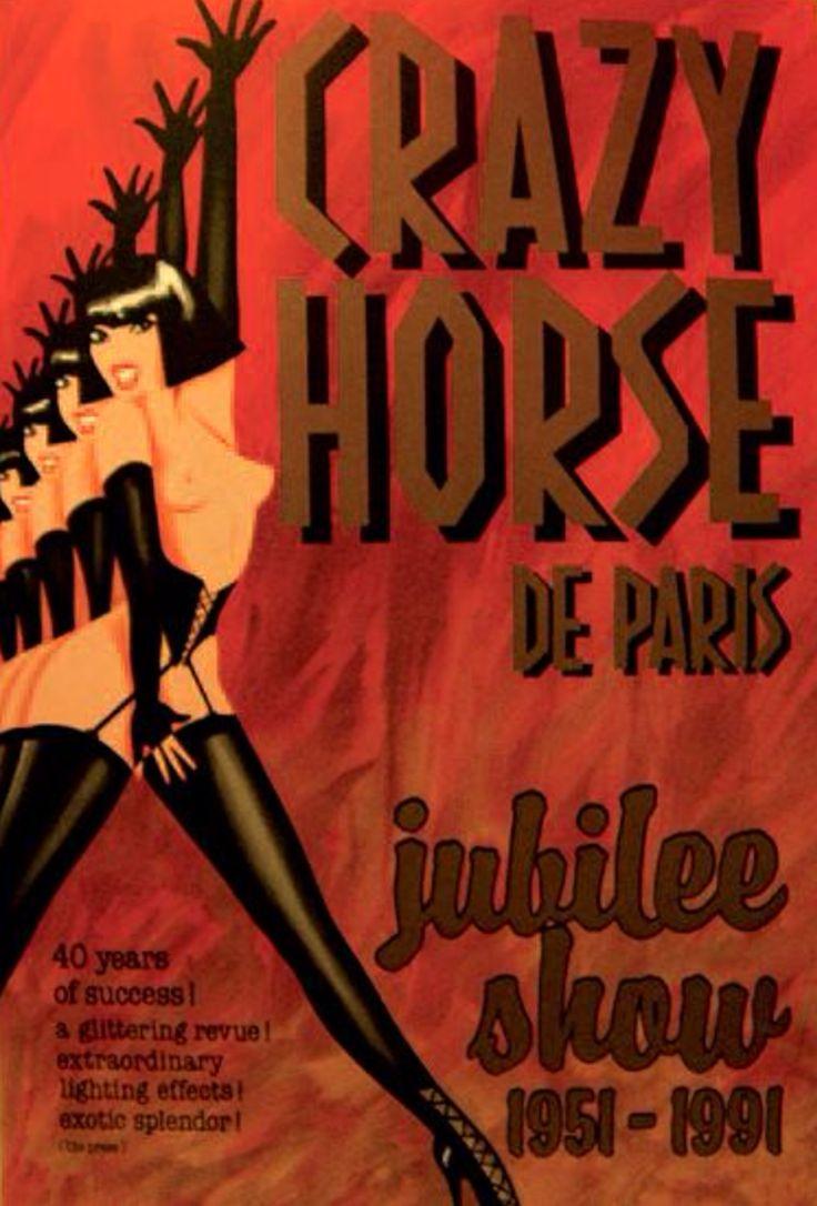Charles Rau - Crazy Horse de Paris, Jubilee Show, 1991.