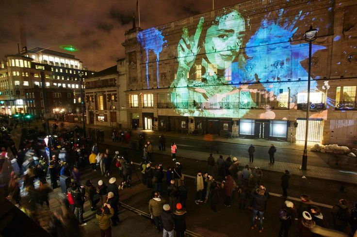 Over 40 nocturnal light displays are set to fill central London this winter, as the Lumiere festival returns for a second time.