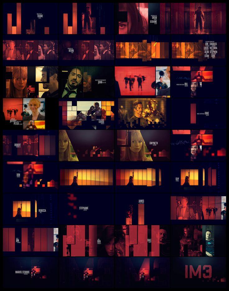 Iron Man 3 (2013) — Art of the Title
