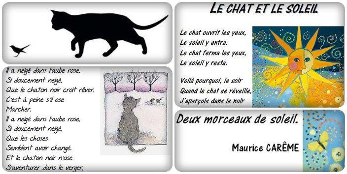 Un fichier qui regroupe 7 poésies sur le thème du chat. Télécharger le pdf